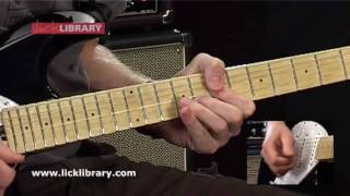 Pink Floyd Guitar Lessons - On The Turning Away - Guitar Solo Performance By Jamie Humphries