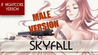 Nightcore - Skyfall [Male Version]