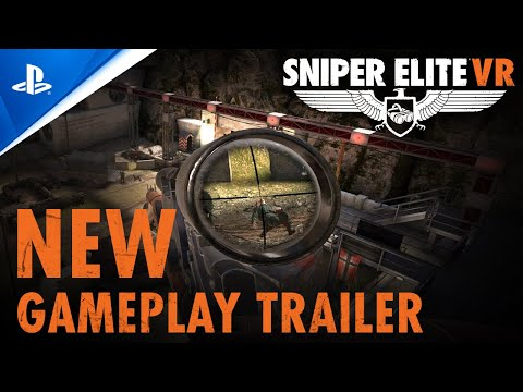 WTFF::: Sniper Elite VR Scouts Out New PSVR Gameplay Trailer
