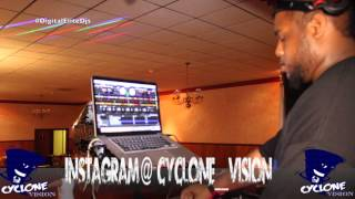 Dj Cyclone playing a little old school music 5/29/15