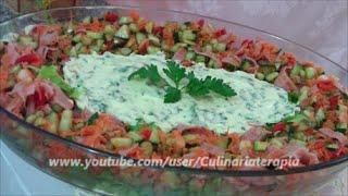 Salada Light Bailarina de Legumes Maionese e Alface | Receita Saudável