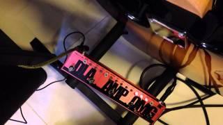 Tech 21 RK5 Richie Kotzen signature (test OMG drive to amplifer only)