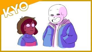 Sans Tells Frisk Some Jokes? (Hilarious Undertale Comic Dub)