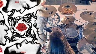 Kyle Abbott - Red Hot Chili Peppers - Suck My Kiss (Drum Cover)
