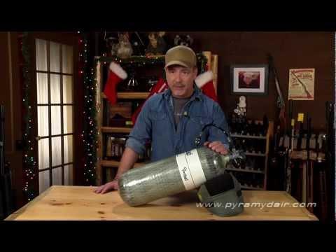 Video: Air Venturi Carbon Fiber Tank - Airgun Reporter Episode #73   Pyramyd Air