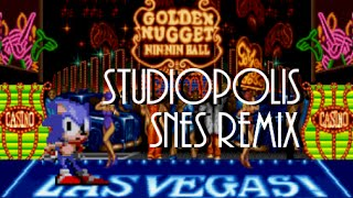 Sonic mania studiopolis zone act 1 sonic 1 remix music extended