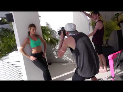 Summer 2013 VSX Sport Collection: Behind the Scenes