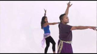 Bhangra Dance Fever with David Olton from Fitness TV Channel 282 Sky