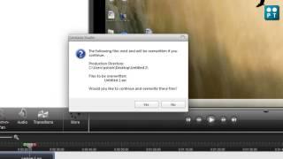 how to save camtasia studio file (avi,mp4,mp3 etc)