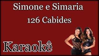 126 Cabides - Simone e Simaria - Karaokê Violão Cover