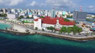 A ride around Male' City (Capital of the Maldives)
