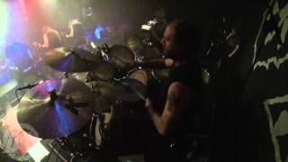 ENTOMBED A.D.@Pandemic Rage-live in Cracow-Poland 2014 (Drum Cam)