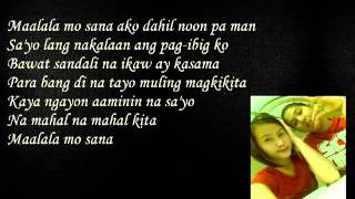 Silent Sanctuary Maalala mo sana Lyrics