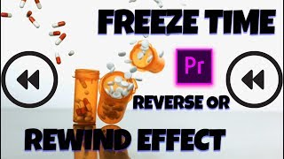 Como hacer efecto de REBOBINAR y congelar el tiempo en Adobe after effects CC 2017 Tutorial Español