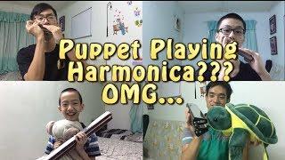 【夜来香】口琴八重奏  Yelaixiang-Harmonica Ensemble