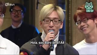 $ИL K. 8 - B1A4 y el efecto de los lentes [sub español]
