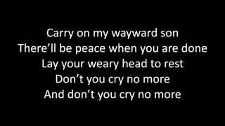 Timeflies - Wayward Son Lyrics