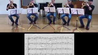 He's a pirate for trumpet quintet by Valter Valerio & Paolo Trettel