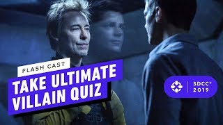 Does The Flash Cast Remember All the Villains?! - Comic Con 2019