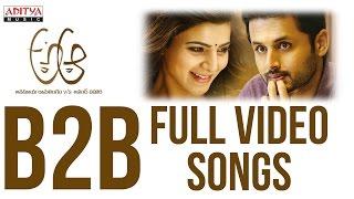 A Aa B2B Full Video Songs    A Aa Video Songs    Nithiin, Samantha , Trivikram, Mickey J Meyer width=