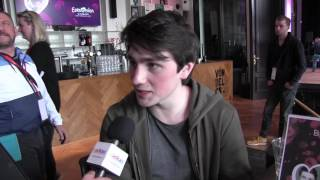 ESCKAZ in Amsterdam: Update with Brendan Murray (Ireland) at Eurovision In Concert