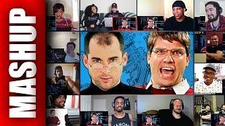 Steve Jobs vs Bill Gates Epic Rap Battles of History Reactions Mashup