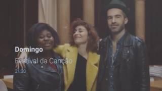Festival da Canção 2017 - Promo - Deolinda/Rita/Sr.Vulcão + Pub