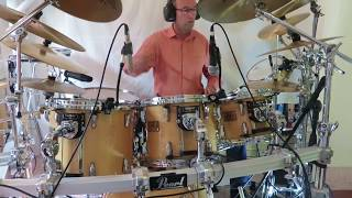 Bryan Ferry - Let's stick together - Drum Cover (120 bpm rock) Studio