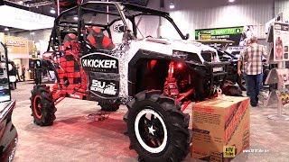 Polaris General 1000 2017 Kicker Audio Edition Side by Side ATV - Walkaround - 2017 SEMA