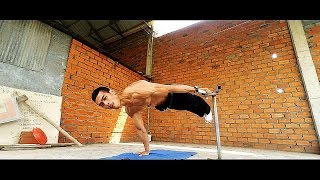 Monster Full Planche and one arm planche from Cambodia!100% Strong !