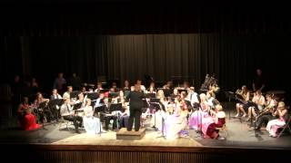 FHS Symphonic Band Variations on a Shaker Melody