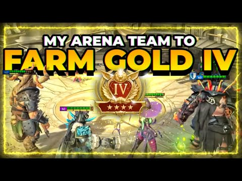 ChoseN's Arena Farm Team | MAX Great Hall  Efficiently | RAID Shadow Legends