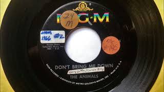 Don't Bring Me Down , The Animals , 1966
