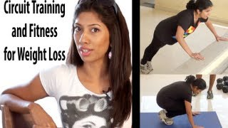 Circuit Training and Fitness for Weight Loss - Hindi
