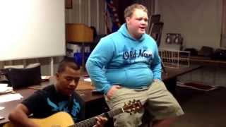 When I was your man cover My buddy and I!