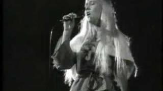 Agnetha performing as Maria Magdalena