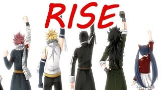 Nightcore - Rise (Switching Vocals/lyrics)