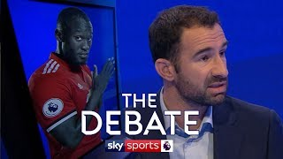 Should Jose worry about Lukaku's lack of goals? | Paul Merson & Danny Higginbotham | The Debate
