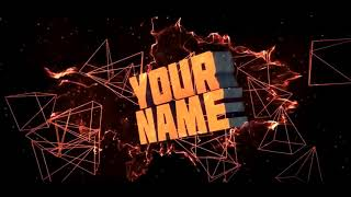 Orange Sony Vegas Pro and Cinema 4D intro template -Intro Editx