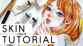 Skin Watercolor Coloring Tutorial