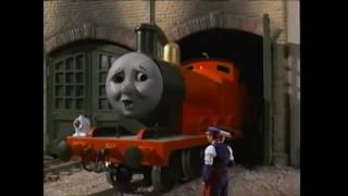 Thomas And The Magic Railroad James & Mr Conductor Scene (With Sound Effects)