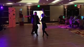 George Estrada & Dilare Erkin Cha Cha - 80's Showcase MOVE Dance Center