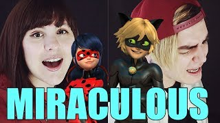 Miraculous Ladybug I Opening I (Español) Piyoasdf & Bastián Cortés