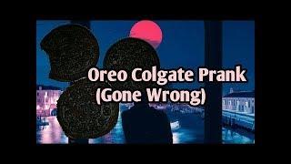Oreo Prank Gone Wrong