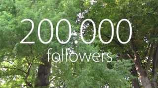 Thank You! 200.000 Followers Relaxing Instrumental Music Video for Fans and Followers