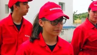 O Sonho de Ser Bombeira - Bombeiros Voluntários de Alvito