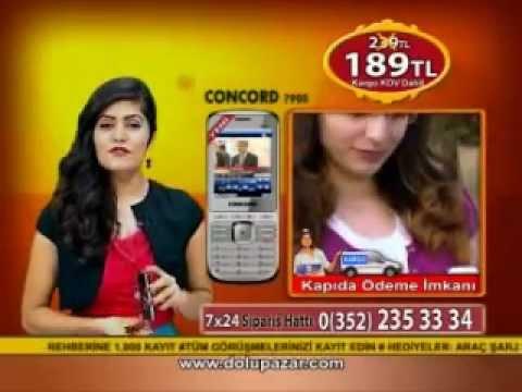 Concord 7900 Cep Telefonu  konkort 7900 telefon reklamı, telefon tanıtımı www.dolupazar.com