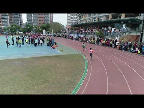 1080323新北市龍埔國小第八屆運動會暨校慶園遊會-六年級大隊接力第一組 - YouTube