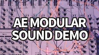 AE Modular Synth Sound Demo #1 (no talking) #TTNM