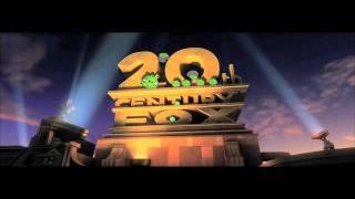 20th Century Fox Intro | Angry Birds Style